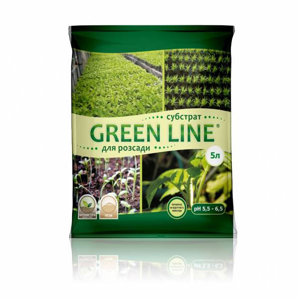 """Green Line"" для розсади"