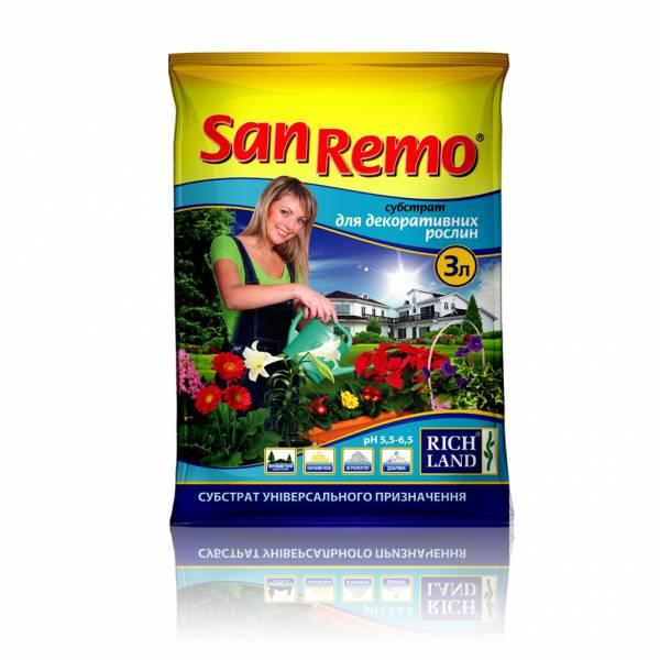 San Remo Для декоративных растений