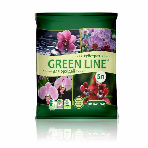 """""""Green Line"""" для орхидей"""
