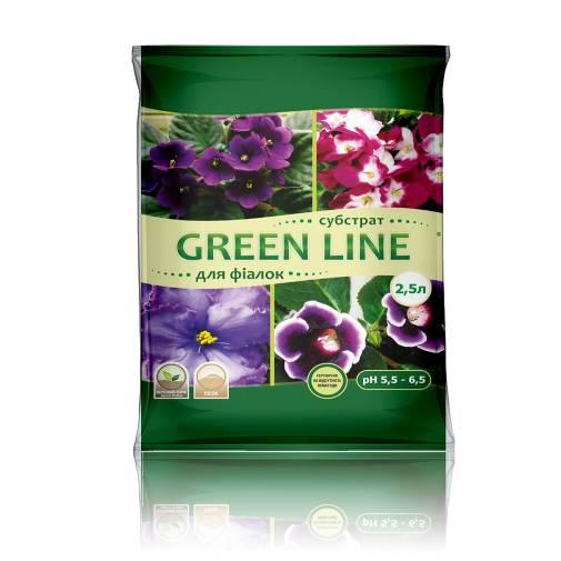 """""""Green Line"""" для фіалок"""